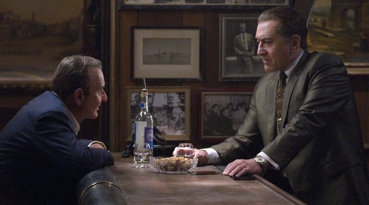 Robert De Niro en 'El Irlandes'