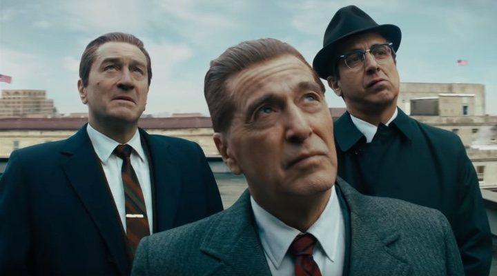 Robert De Niro y Al Pacino en 'El Irlandes'