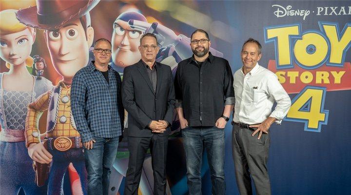 Mark Nielsen y el equipo de 'Toy Story 4'