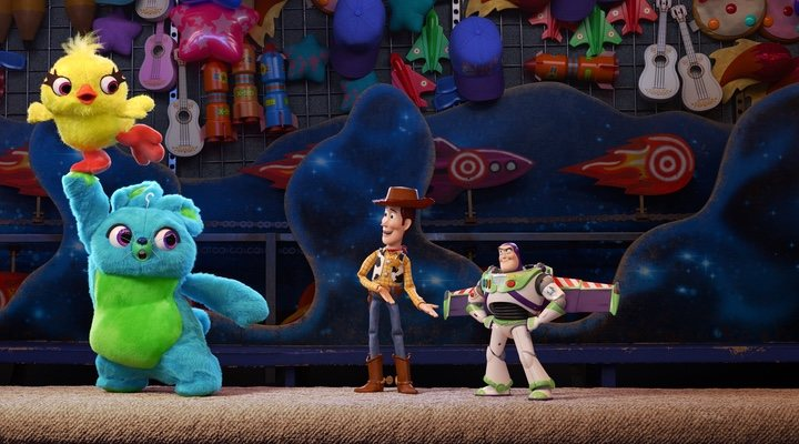 Duck y y Bunny en 'Toy Story 4'
