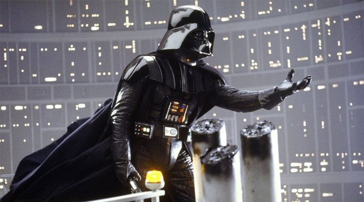 Darth Vader (David Prowse) en 'Star Wars: Episodio V - El imperio contraataca'