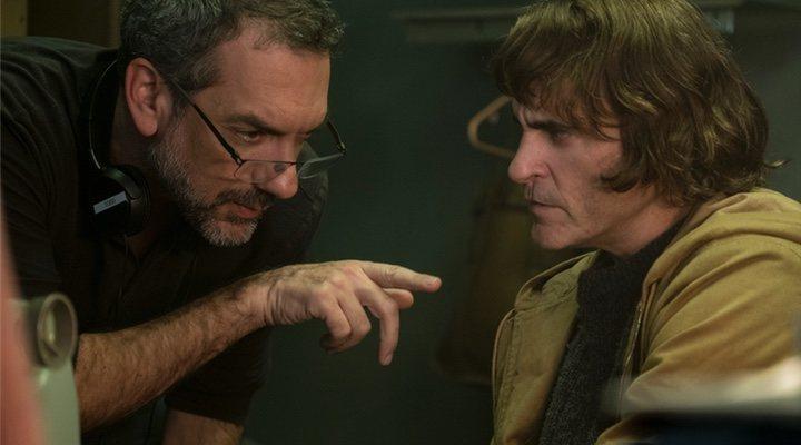 Todd Phillips y Joaquin Phoenix en 'Guasón'