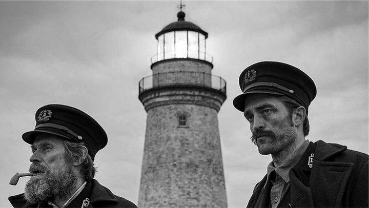 'Willem Dafoe y Robert Pattinson'