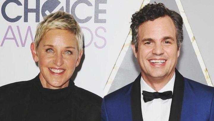 'Ellen y Mark Ruffalo'