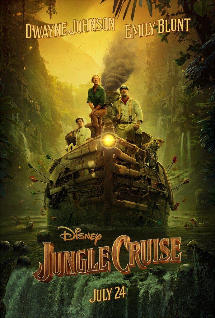 Póster 'Jungle Cruise'