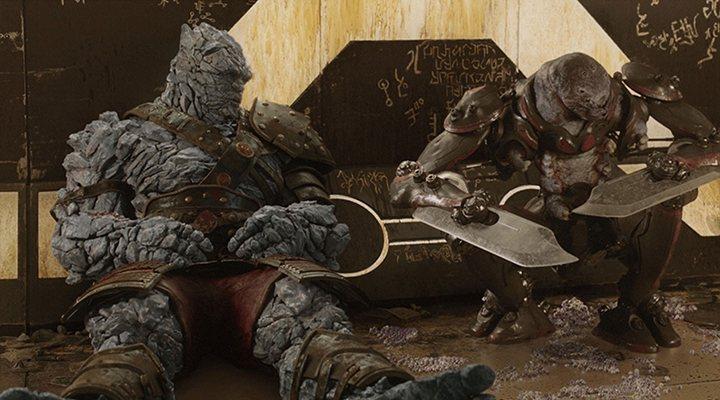 Korg en Thor Ragnarok