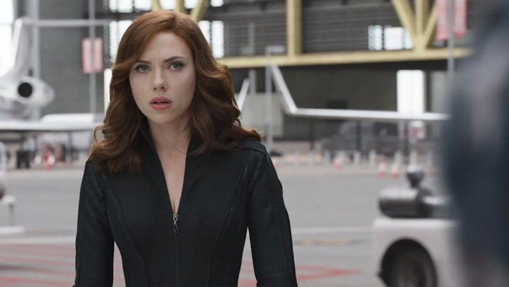 Scarlett Johansson en 'Capitan America Civil War'