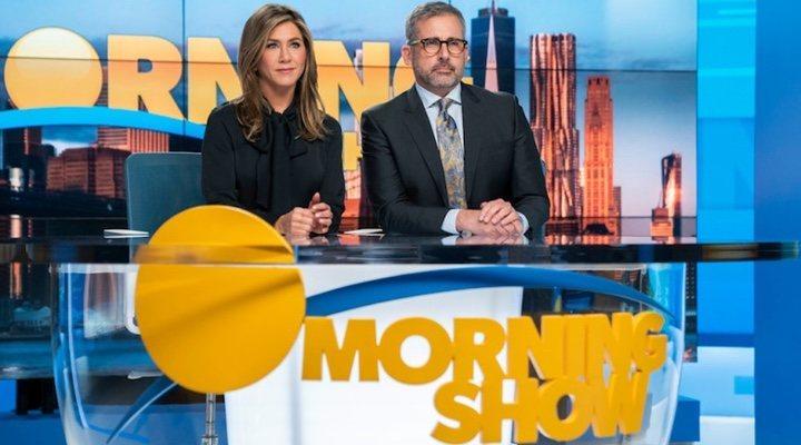 Jennifer Aniston y Steve Carel en 'The Morning Show'