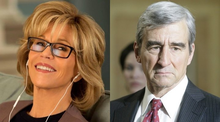 Jane Fonda y Sam Waterson