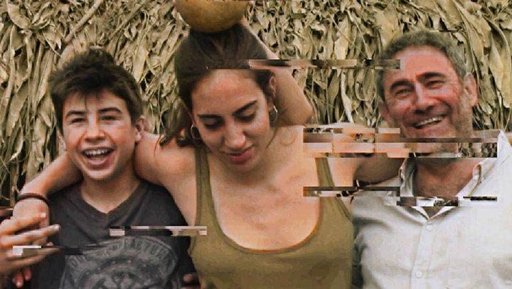 Los tres protagonistas de 'El viaje de Marta'