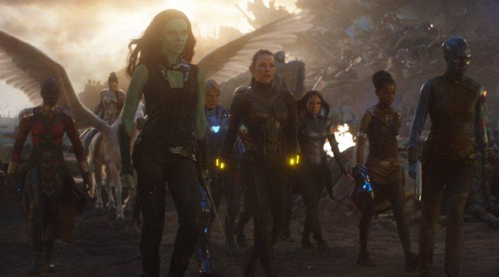 'Vengadores: Endgame' escena