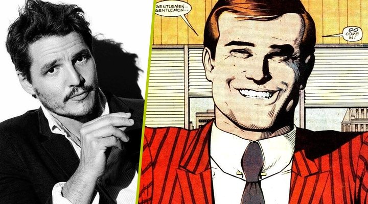 Pedro Pascal será el villano Maxwell Lord en Wonder Woman 1984 (2019)
