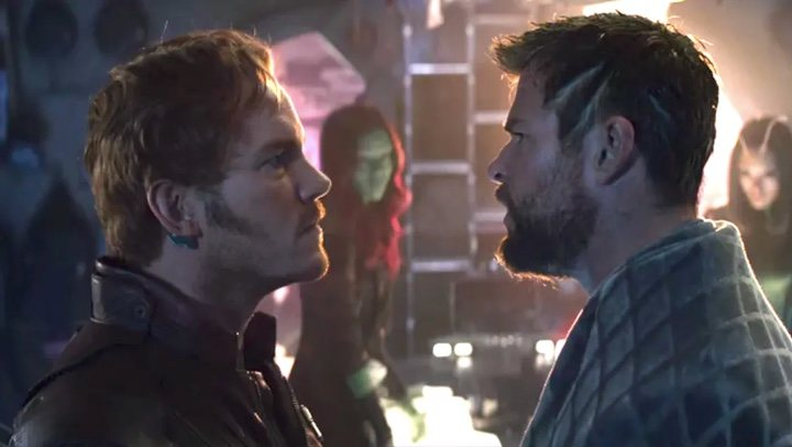 Peter Quill y Thor