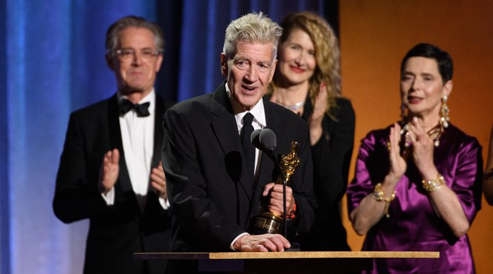 Oscar honorífico David Lynch y Geena Davis