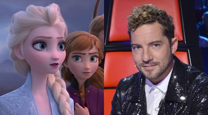 'Frozen 2' y David Bisbal