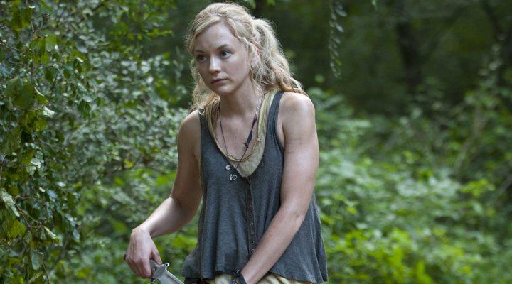 'The Walking Dead' guiño a Emily Kinney