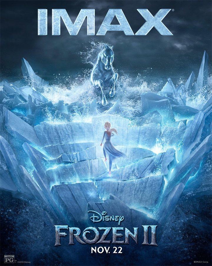 'Frozen 2' poster imax