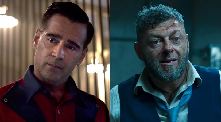 Colin Farrell y Andy Serkis