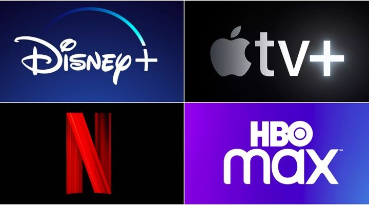 Netflix, Disney+, HBO Max y Apple TV+