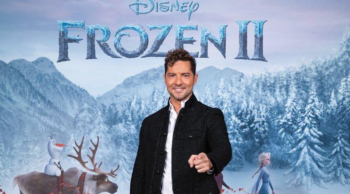 David Bisbal canta la canción 'Mucho más allá' en 'Frozen 2'