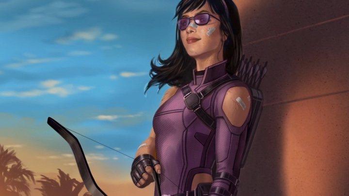 Hawkeye arte conceptual