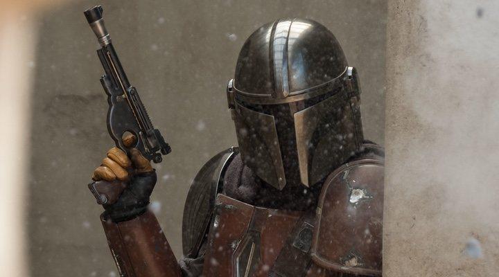 Imagen de 'The Mandalorian', serie de 'Star Wars' en Acción real disponible en Disney+