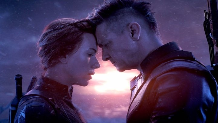 Scarlett Johansson y Jeremy Renner