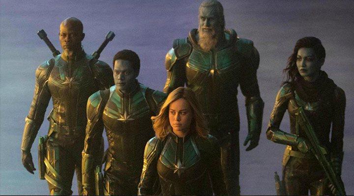 Captain Marvel en 'Avengers: Era de Ultrón'