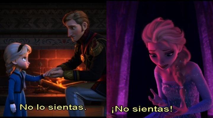 'Elsa y la represión de los sentimientos'