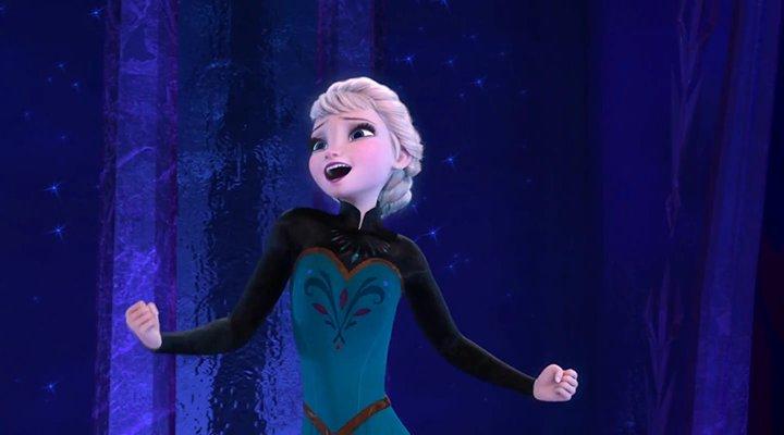 'Elsa entona 'Let it go''