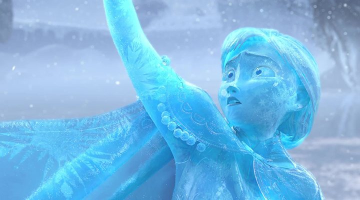 'Anna se sacrifica por Elsa en el clímax de 'Frozen''