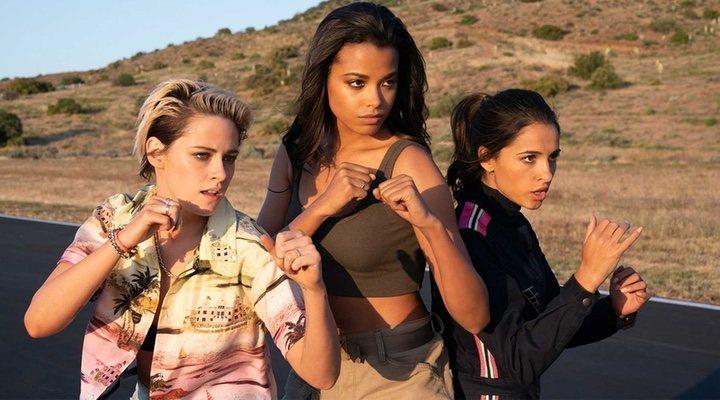Kristen Stewart, Ella Balinska y Naomi Scott interpretan a los ángeles en este remake
