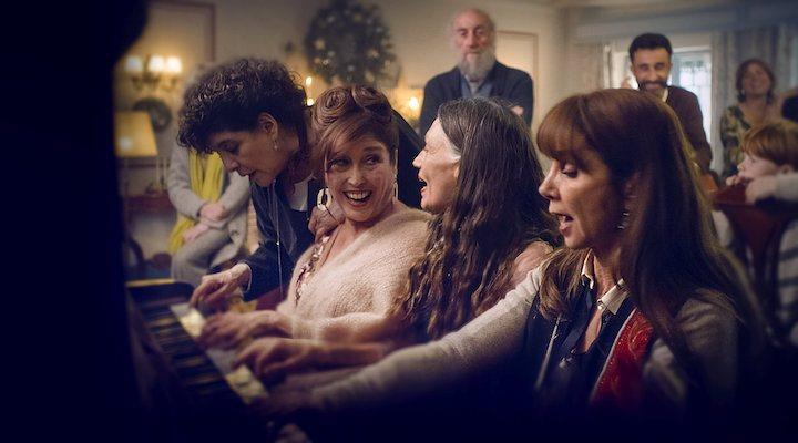 Protagonistas de 'Días de Navidad'