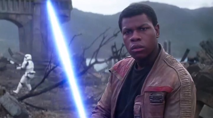Finn en 'El Despertar de la Fuerza'