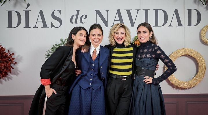 Nerea Barros, Elena Anaya, Anna Moliner y Verónica Echegui