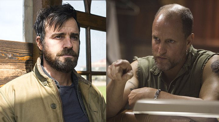 HBO, Justin Theroux y Woody Harrelson