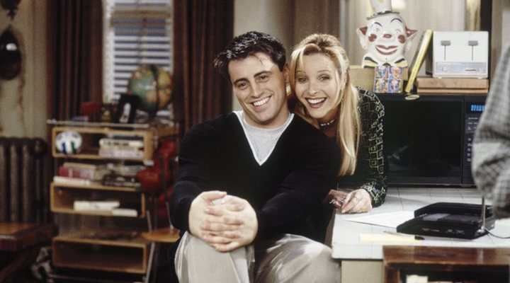 Firends Joey y Phoebe