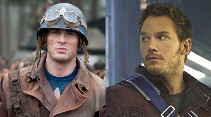 Capitán América y Star-Lord