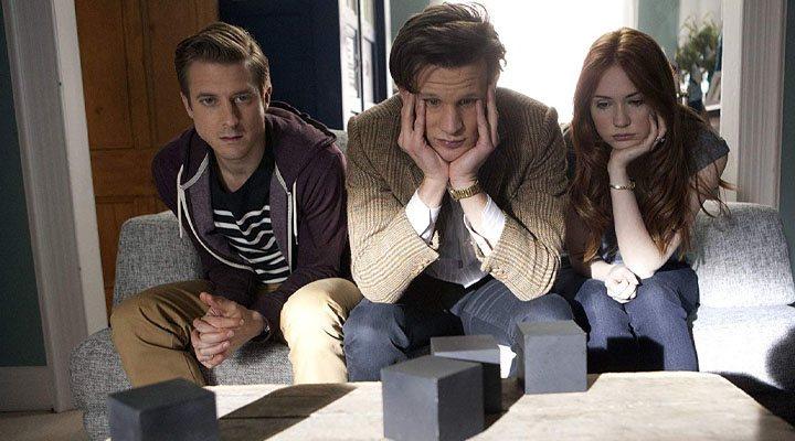 Karen Gillan, Matt Smith y Arthur Darvill en 'Doctor Who'