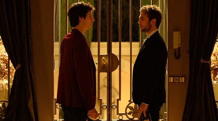 'Rai y Pol en una escena de 'Merlí: Sapere Aude''