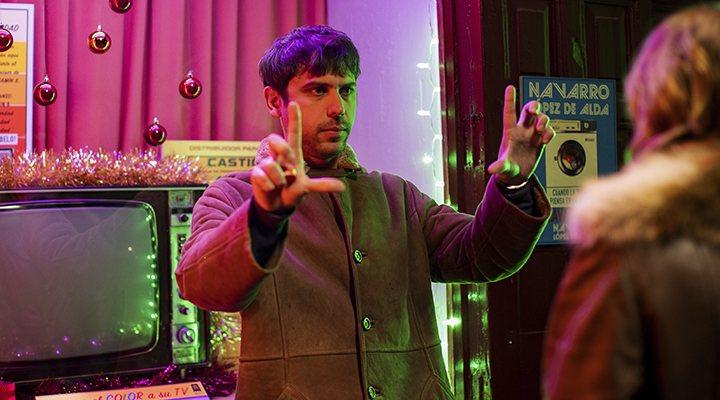 El director Nacho Álvarez en el rodaje de 'Explota explota'