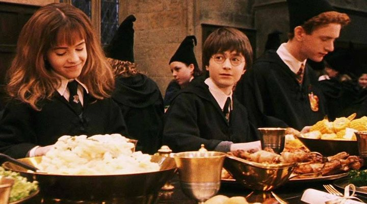 Los actores de 'Harry Potter' se reúnen por Navidad