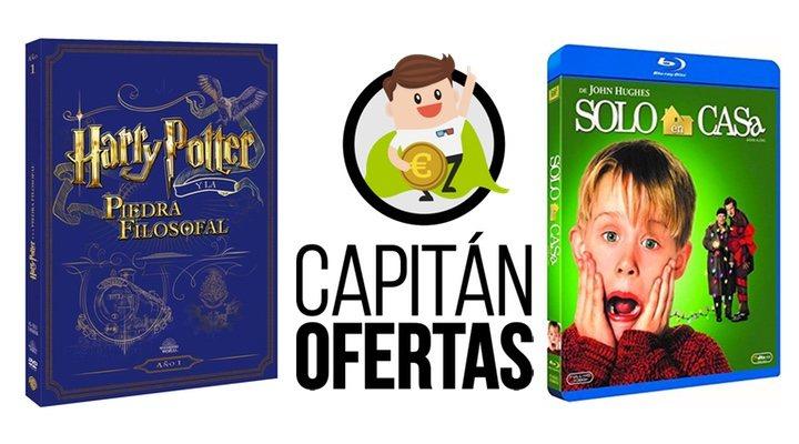 Las mejores ofertas en DVD y Blu-ray de la semana incluyen 'Harry Potter' y 'Solo en casa'