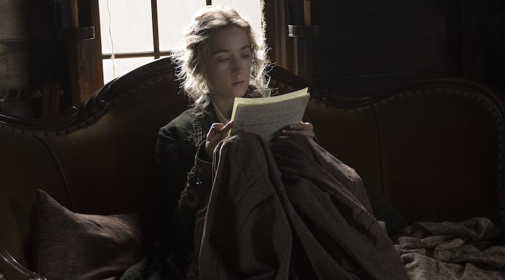 Saoirse Ronan como Jo March en 'Mujercitas'