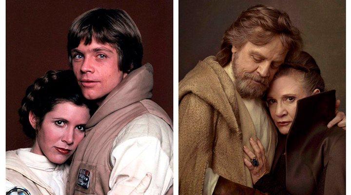 Luke y Leia en 'Star Wars'
