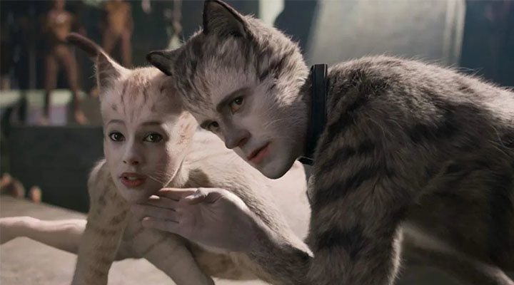 Robert Fairchild y Francesca Hayward en 'Cats'