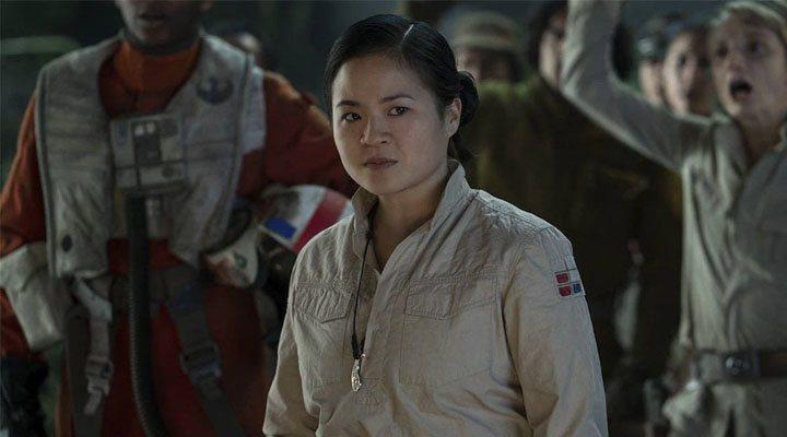Kelly Marie Tran en un fotograma de 'Star Wars: El ascenso de Skywalker'