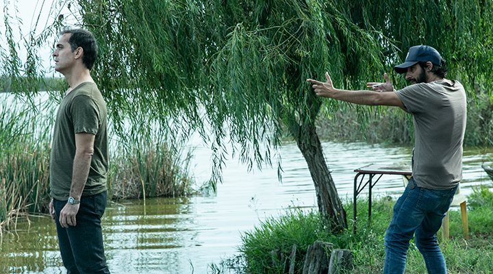 Marc Vigil en 'El Silencio del Pantano'