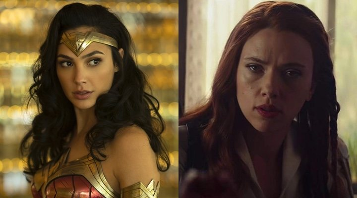 Wonder Woman 1984 y Viuda Negra
