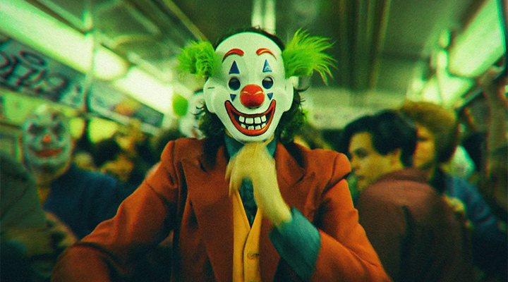 'Joker' Joaquin Phoenix improvisación